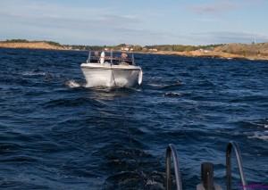 tauer båten til tante og onkel