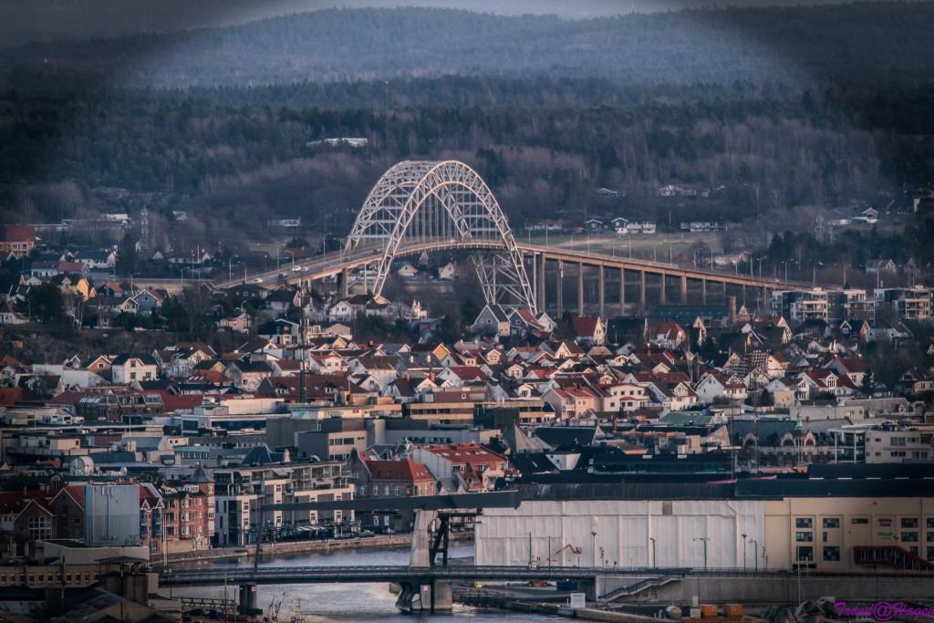 Fredrikstadbroa tatt fra Sprinkelet