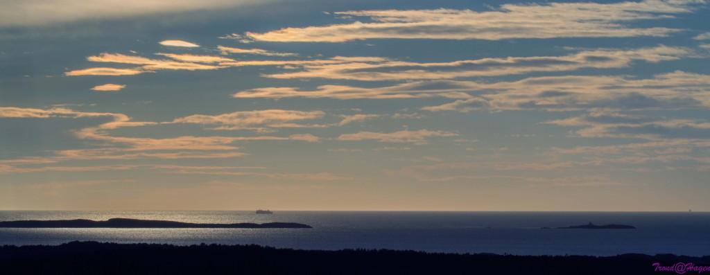 Ettermiddagsdis på Oslofjorden.