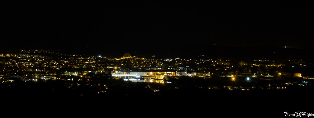 Frdrikstad by night